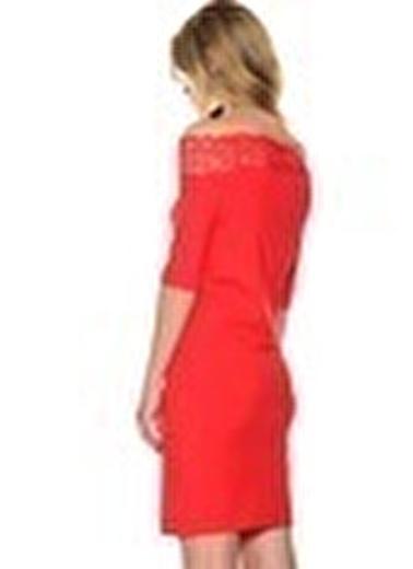 Vero Moda Elbise Kırmızı